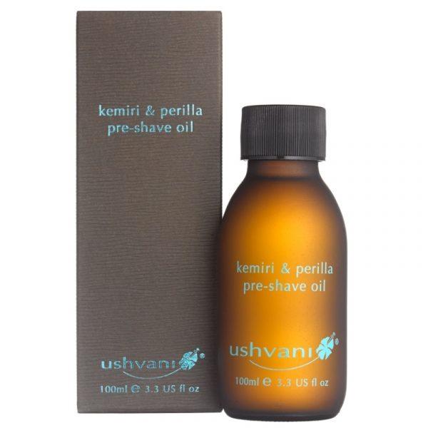 Ushvani Men's Kemiri & Perilla Pre-Shave Oil