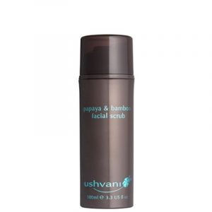 Ushvani Men's Papaya & Bamboo Facial Scrub